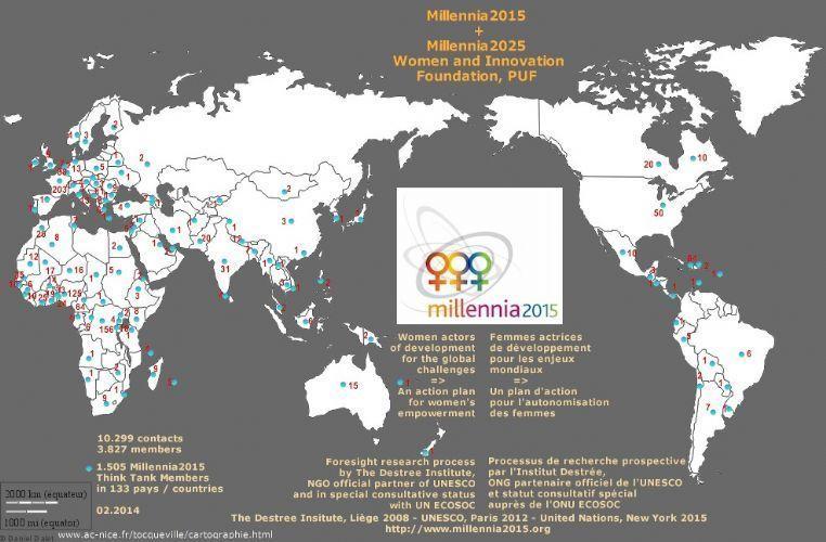 Liste des pays membres
