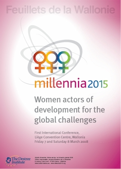 Millennia2015, Women actors of development for the global challenges