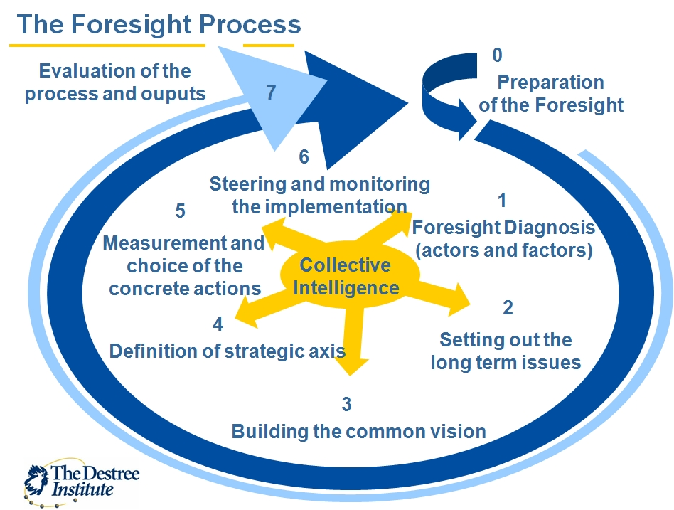 The Millennia2015 Foresight process