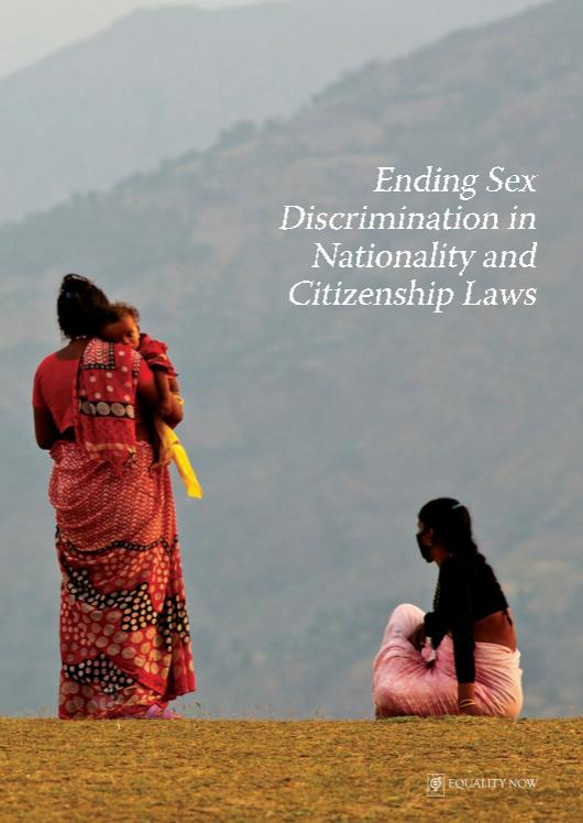 Ending Sex Discrimination in Nationality and Citizenship Laws