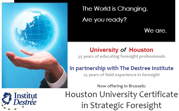 Houston University Strategic Foresight Certificate