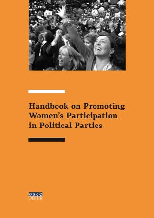 Handbook on Promoting Women's Participation in Political Parties