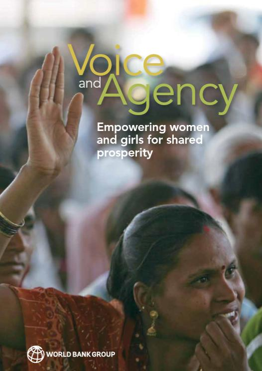 Voice and Agency - Empowering Women and Girls for Shared Prosperity