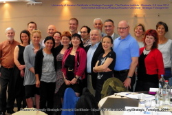 Houston University Strategic Foresight Certificate, Brussels 2014