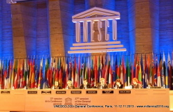 UNESCO 37thGC, Paris, 11.11.2013