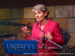 UNESCO 37thGC, Paris, 11.12.2013